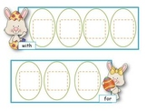 Easter Sight Word Puzzles