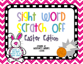 Easter Sight Word Scratch Off Cards and Writing Paper