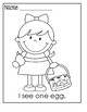 Easter ~ Sight Word Sentences/Visual Aids