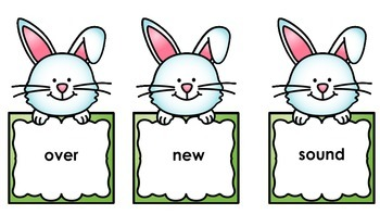 Easter Sight Words - Second 100
