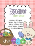 Easter Sight Words Word Work