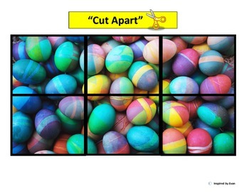"""""""Easter"""" Simple Puzzles for Autism"""