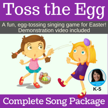 "Easter Singing Game | ""Toss the Egg"" by Lisa Gillam 