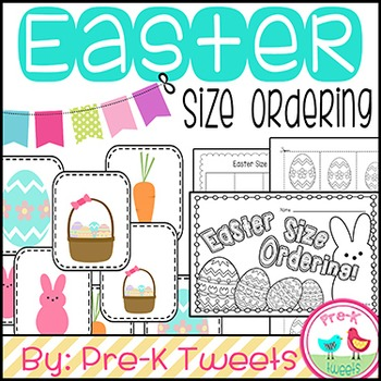 Easter Size Sorting Cards