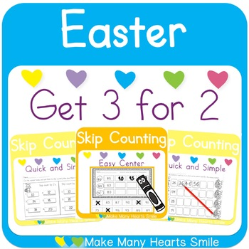 Skip Counting-Easter