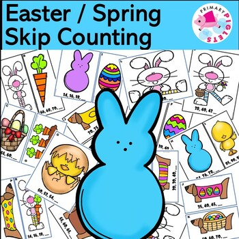 Easter Skip Counting Math Center