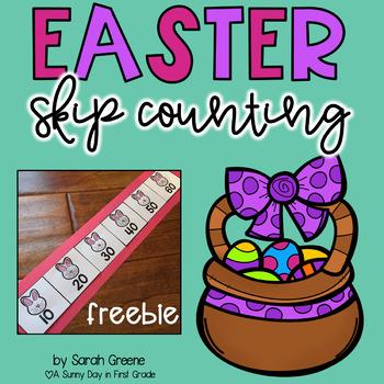 Easter Skip Counting {freebie!}