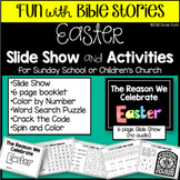 Easter Slide Show Booklet and Activities for Sunday School or Children's Church