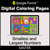 Easter: Smallest and Largest Numbers - Google Forms   Digi