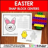 Easter Snap Block Center