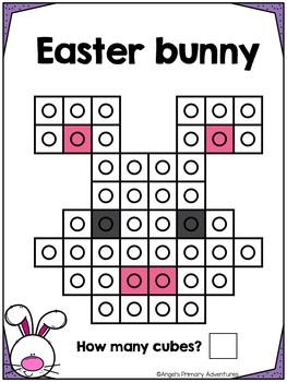 Easter Snap Cube Activity Mats