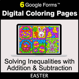 Easter: Solving Inequalities with Addition & Subtraction -