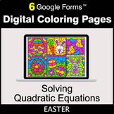 Easter: Solving Quadratic Equations - Google Forms   Digit