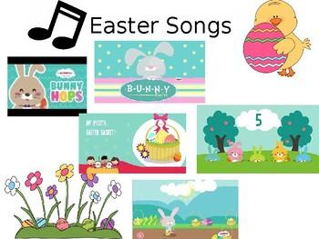 Easter Songs Choice Board