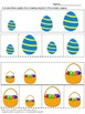 Sorting by size Easter Cut and Paste Kindergarten Math Worksheets Morning Work