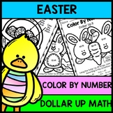 Easter - Special Education - Color By Number - Dollar Up - Math - Money