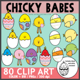 Chicky Babes Clip Art