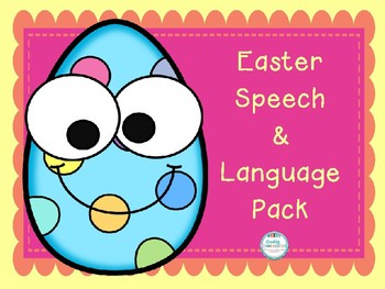 Easter Speech & Language Pack