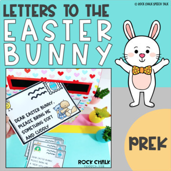 Easter Speech Therapy Circle Time, Small Group Activity for Preschool