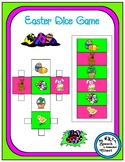 Easter Speech Therapy Dice Game