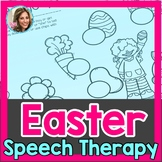 Easter Speech Therapy | Easter Speech and Language
