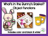 Easter Speech Therapy: Object Functions