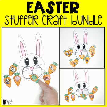 Easter Speech Therapy Stuffer Craft BUNDLE