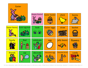 Easter Speech and Language Activities