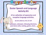 Easter Speech and Language Activity Kit