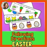 Easter Speech and Language | Spring Speech Therapy | Following Directions