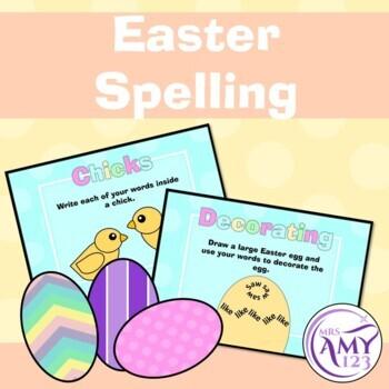Easter Spelling Activities