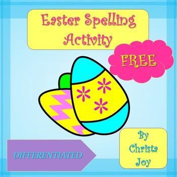 Easter Spelling FREEBIE