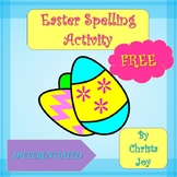 Easter Spelling FREEBIE