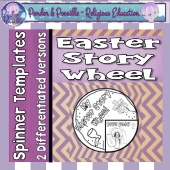 Easter Spinner Wheel ~ Celebrating the events of Christ at Easter