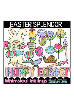 Easter Splendor Clipart Collection