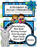 Easter & Spring Activities, Actividades de primavera y pascua