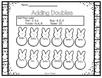Easter Spring Activity Pack