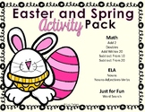 Easter | Spring | Activity Pack
