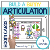 Easter Spring Articulation Boom Cards™️ for Speech Therapy