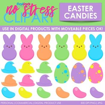 Easter Spring Candy Clip Art (Digital Use Ok!)