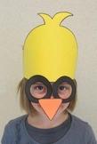 Easter Spring Chick Sentence Strip Hat Mask