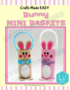 Easter Spring Craft - Bunny Mini Baskets