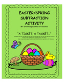 Easter/Spring Egg Subtraction Activity