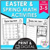 Spring Math Activities Elementary | Easter Math Activities Elementary
