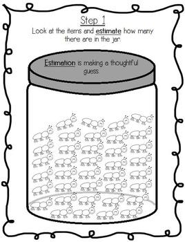 Easter Spring Estimation Skip Counting Math Center Set