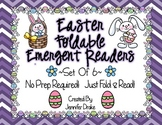Easter (Spring) Foldable Emergent Readers ~Set of 6~