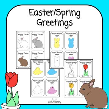 Easter/Spring Greetings