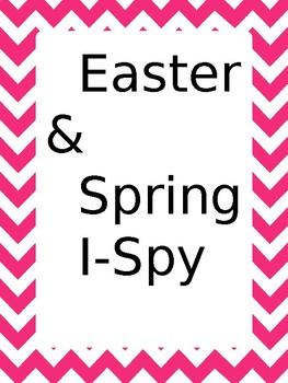 Easter/Spring I-spy