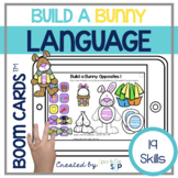 Easter Spring Language Boom Cards™️ for Speech Therapy Bui