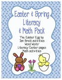 Easter / Spring Literacy & Math Pack and The Easter Egg craftivity